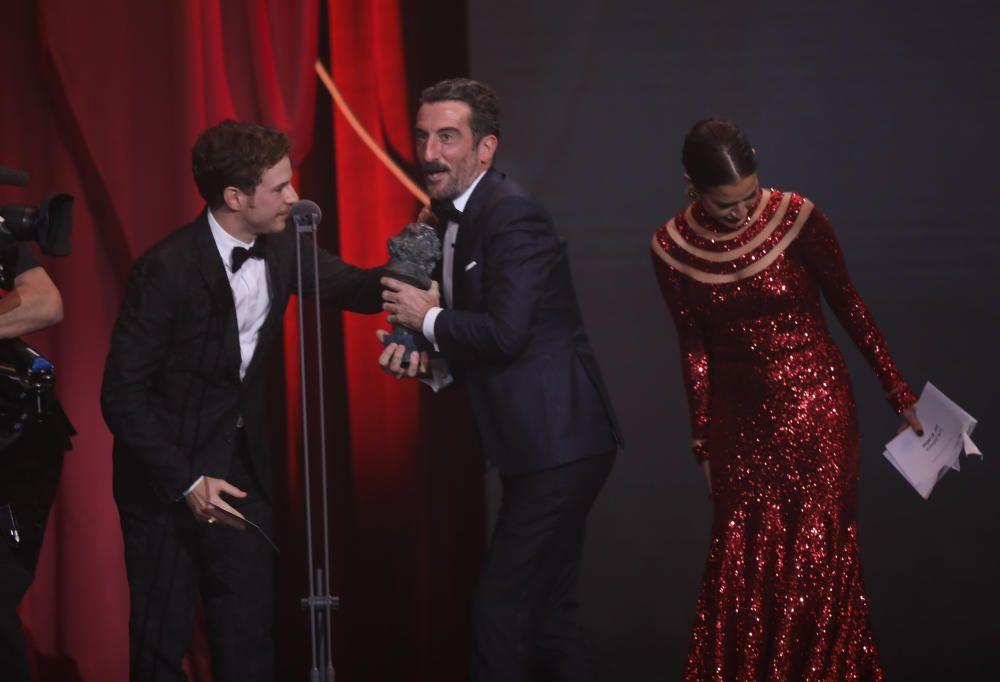 Goya 2019 al mejor actor de reparto. Luis Zahera ...