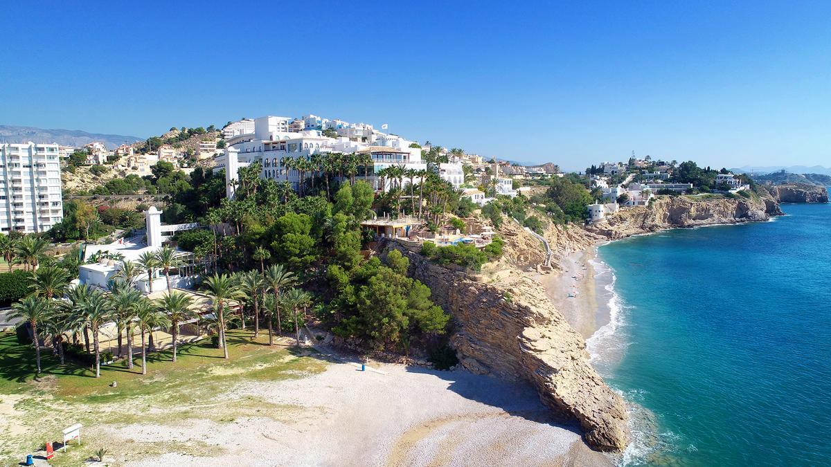 El emblemático hotel Montíboli, el primer 5 estrellas de la provincia de Alicante.