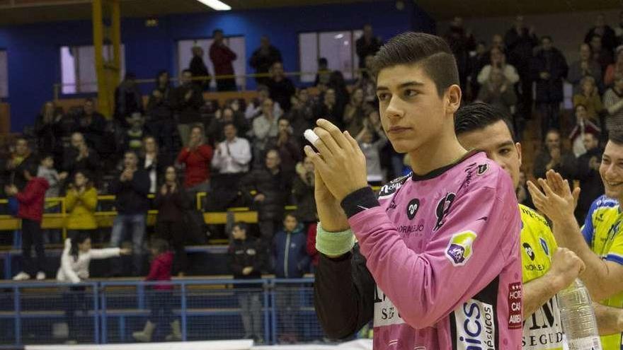 Guarido asciende al primer equipo del BM Zamora