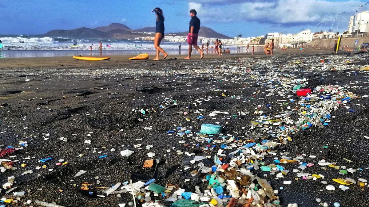 Microplásticos en La Cícer