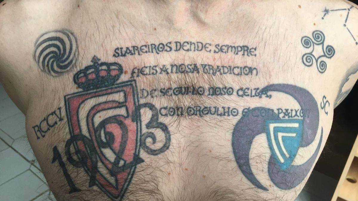 """Escudos del Celta antiguos y primera estrofa de la canción de Keltoi """"1923"""". //  Belén (Tatuarte)"""