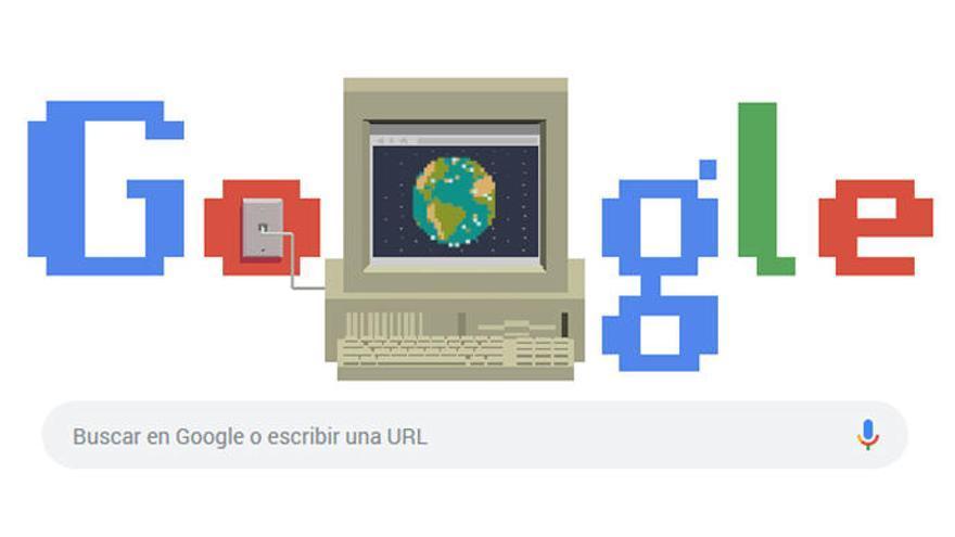 Google celebra los 30 años de internet