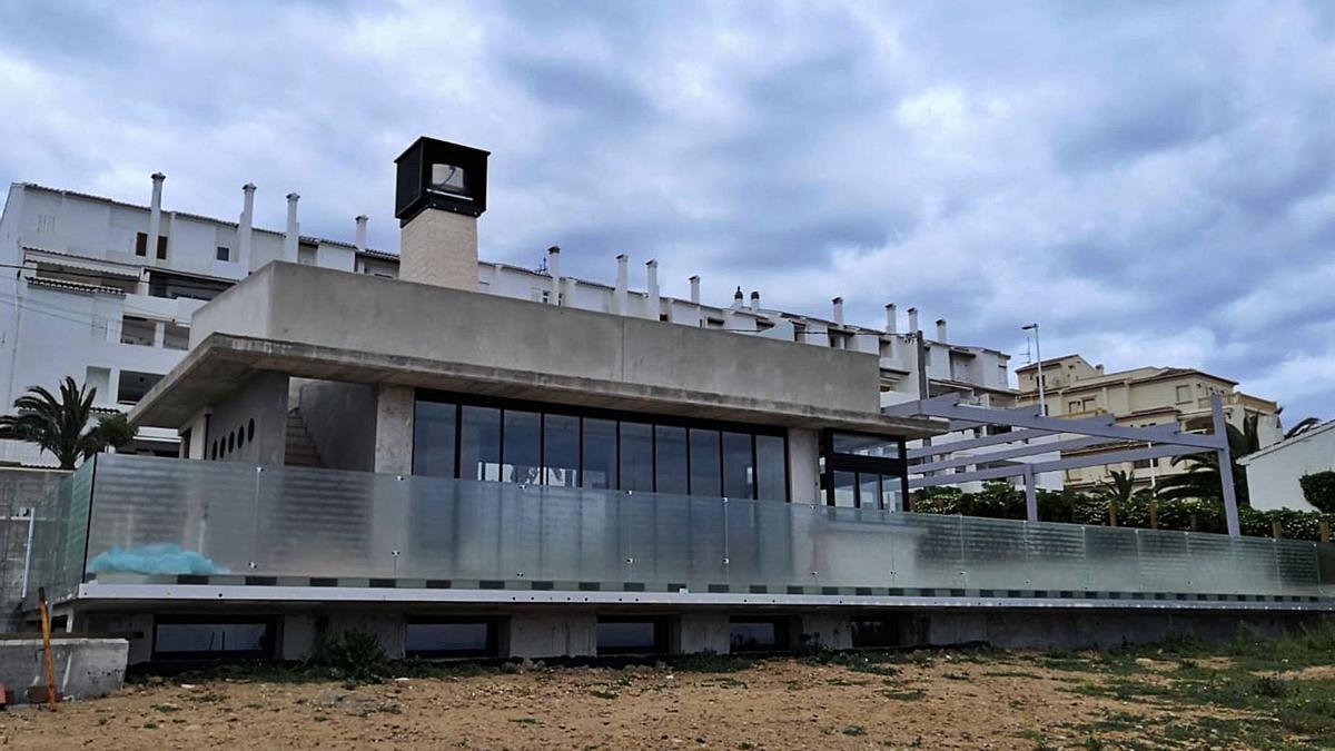 El restaurante del Segundo Montañar de Xàia, listo  | NOMBRE FEQWIEOTÓGRAFO