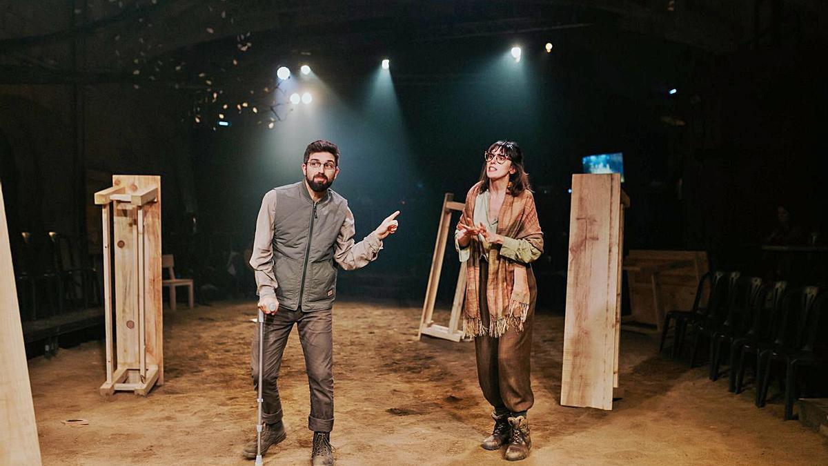 L'espectacle «Canto jo i la muntanya balla» es podrà veure a Figueres a la tardor. | SÍLVIA POCH
