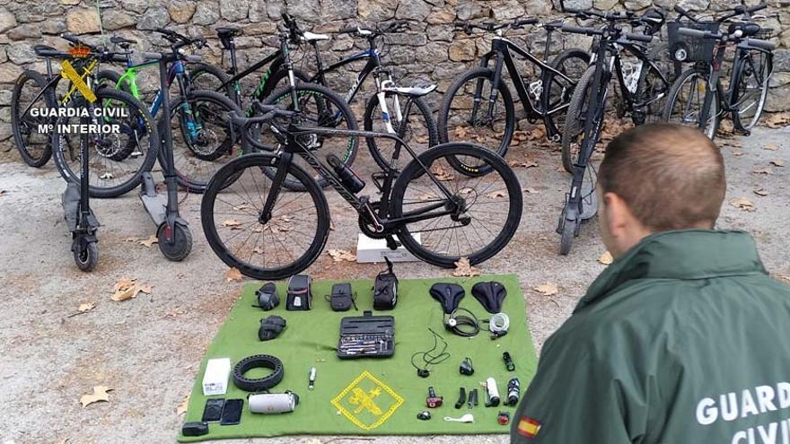 Detenido por robar 80 bicicletas por valor de 85.000 euros en toda Mallorca
