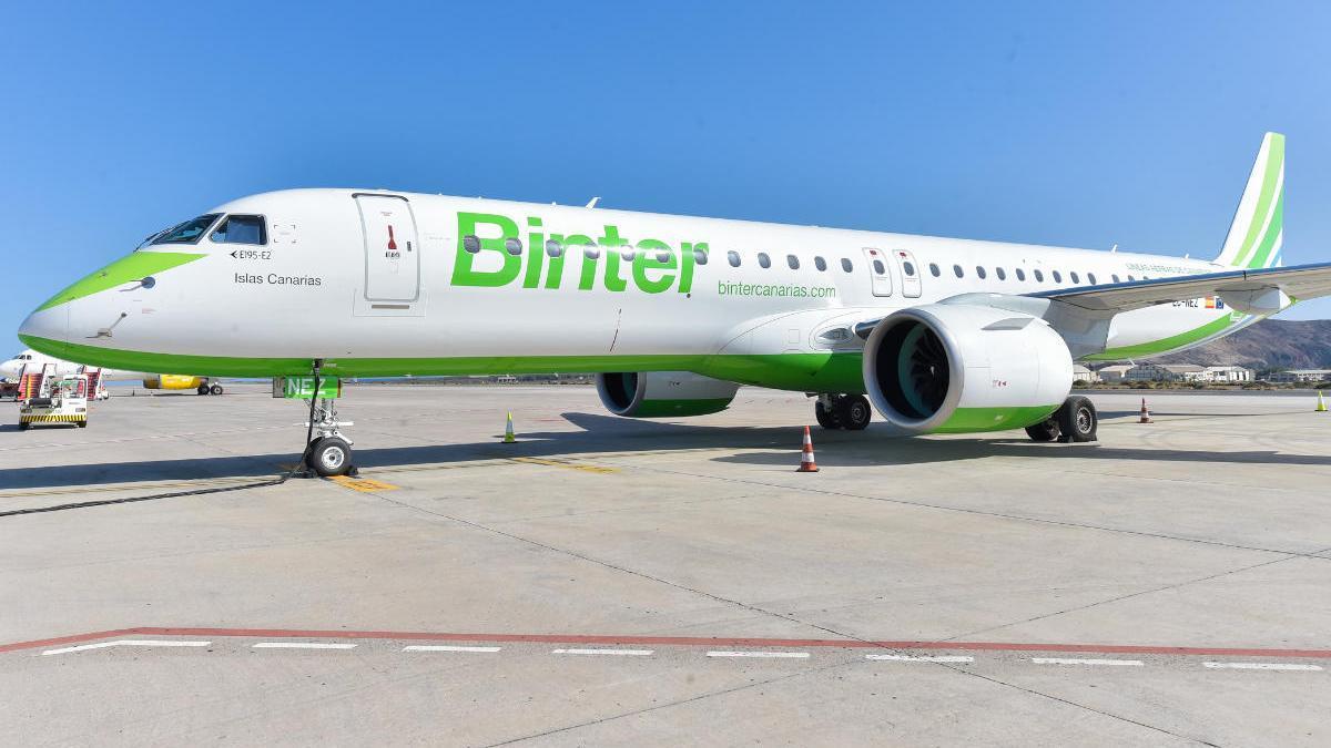 Binter reanuda los vuelos a la Península y Baleares a partir del 1 de julio.