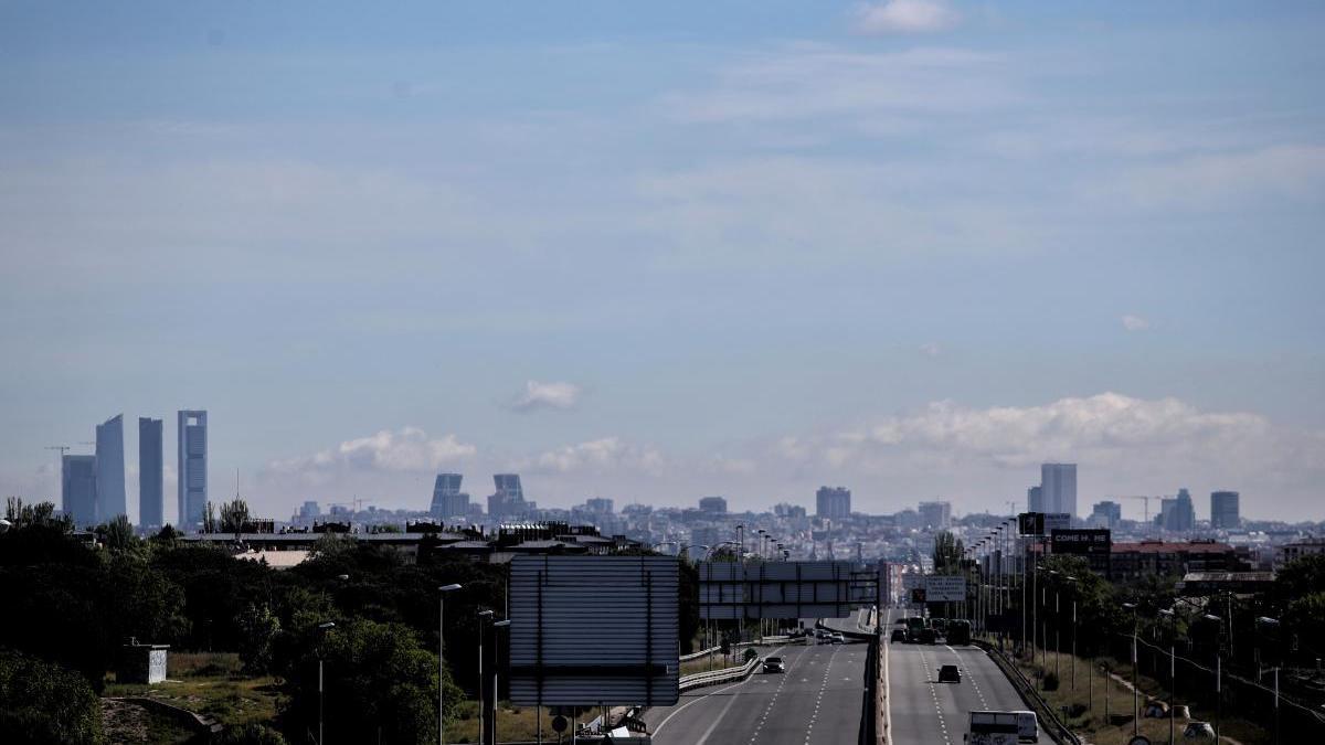 Madrid registró una bajada de la contaminación durante el confinamiento.