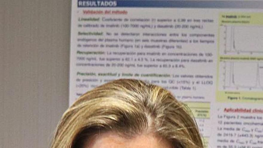 Vanesa Escudero: «Desarrollamos técnicas de bioanálisis para ajustar las dosis de fármacos»