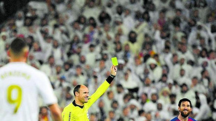 El árbitro para el Clásico  acaba siendo Mateu Lahoz