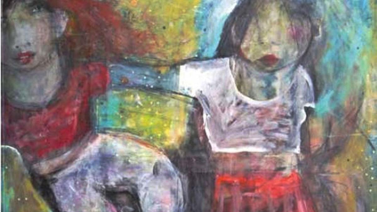 Les obres «Tan prop, tan lluny, reduïnt diferències» d'Empar Boix i, «Acción por el clima» de Fernando Seguí.