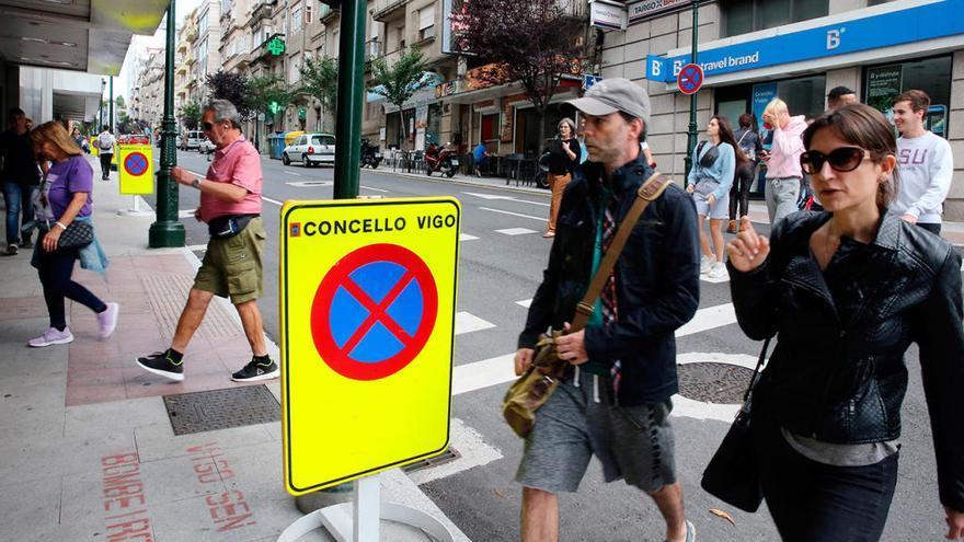 Las obras de la Gran Vía de Vigo: ¿qué calles se cortan?