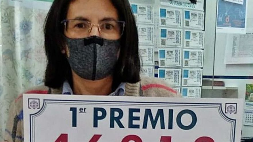 El primer premio de la lotería nacional dejó 120.000 euros en Pola de Laviana
