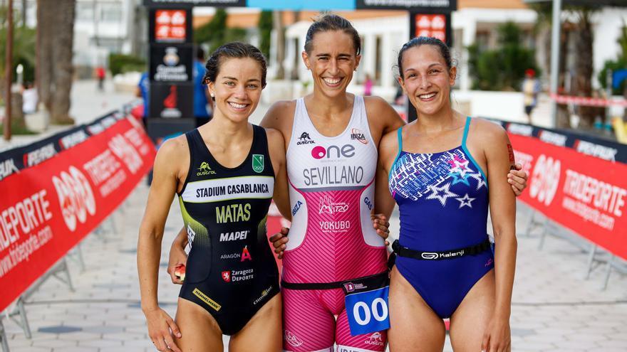 Dominio absoluto del Ibiza Half Triathlon en el VI Aquatló Ciutat d'Eivissa