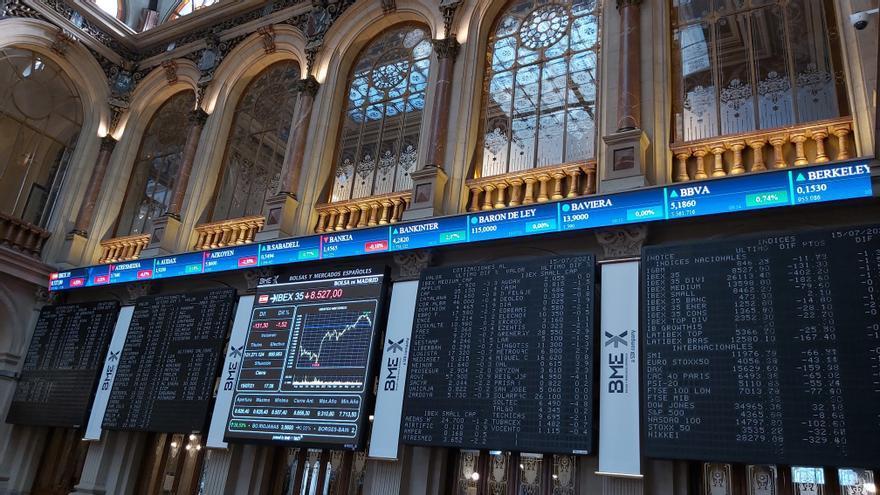 La Bolsa cierra su segunda peor semana del año con una caída del 3,08%