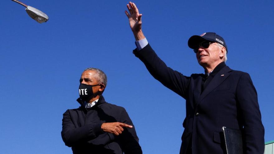 Obama pren protagonisme en els últims actes de campanya per tal de reforçar a Biden
