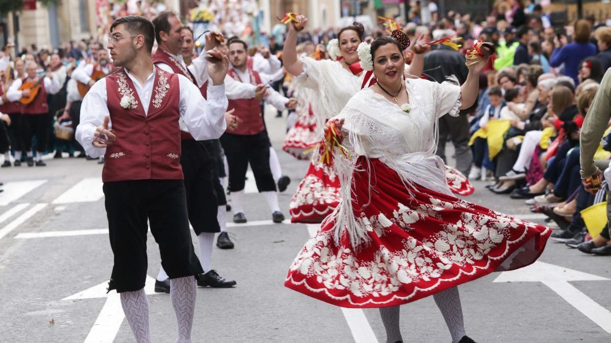 Desfile del Bando de la Huerta.