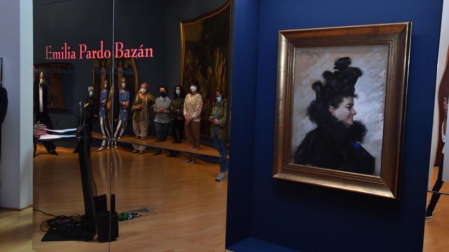La Xunta promueve una muestra con el legado de Pardo Bazán en el Museo de Belas Artes