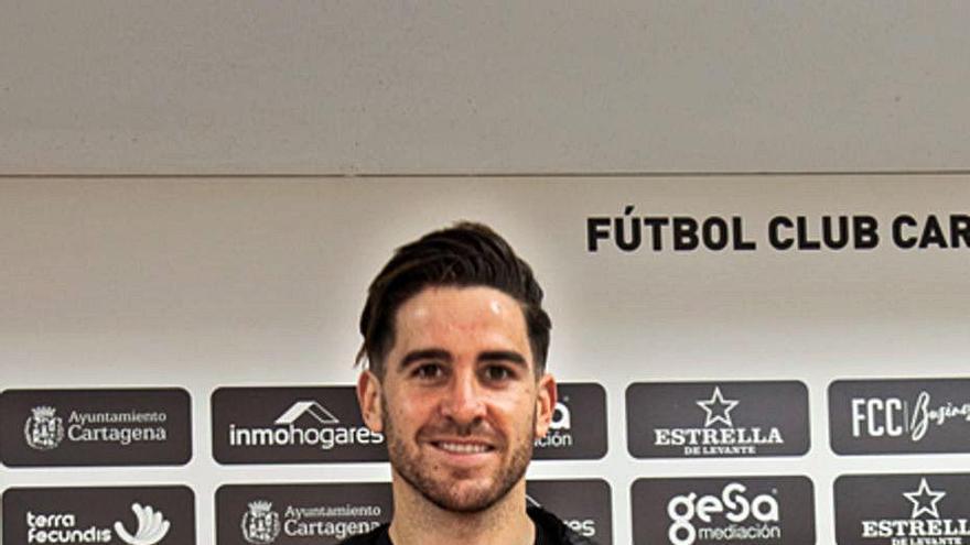 """Chichizola: """"Vengo a aportar mi experiencia para que el Cartagena suba en la tabla"""""""