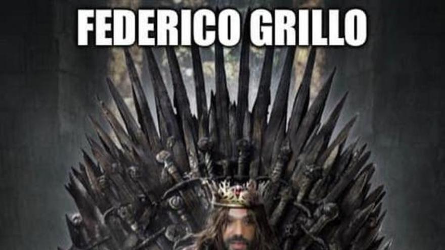 Los mejores memes de Federico Grillo