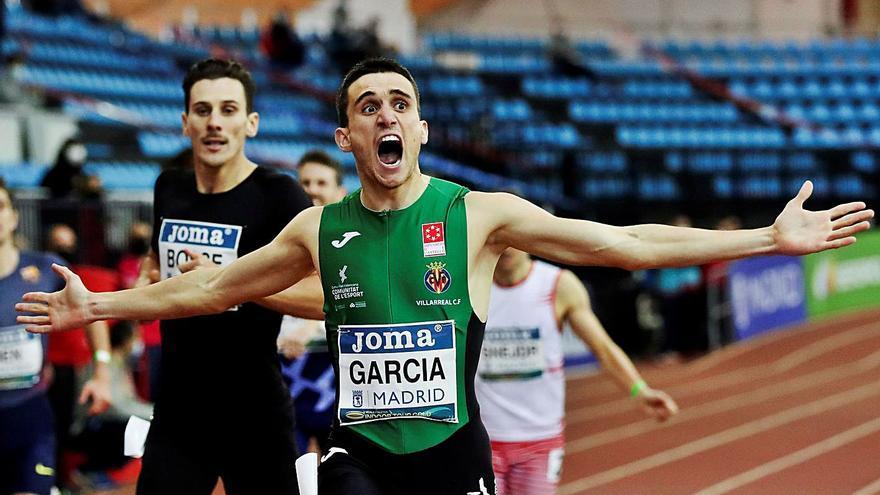 Mariano García roza el récord de España en Madrid
