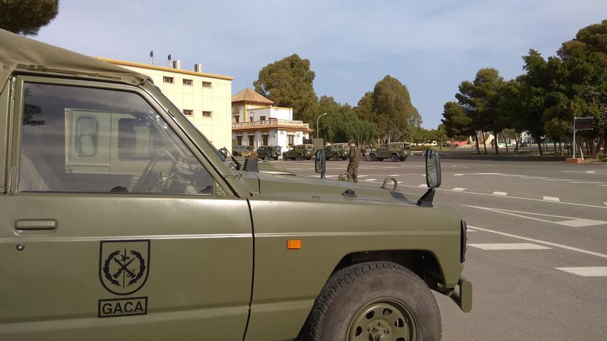 Detenidos tres oficiales de La Legión por robar 7.500 euros en un establecimiento