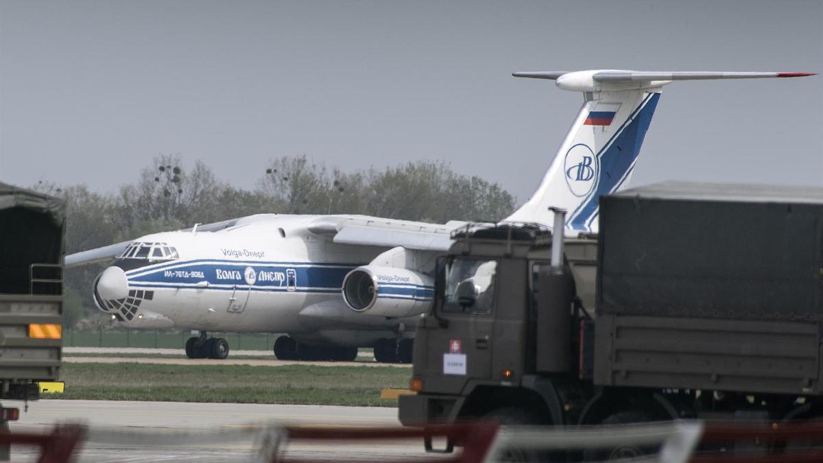 Un avión ruso.