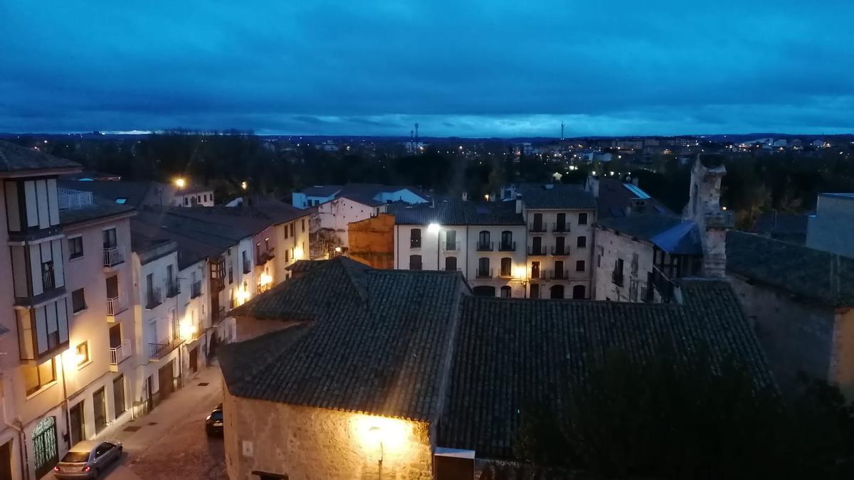 Zamora, desde el mirador de San Cipriano