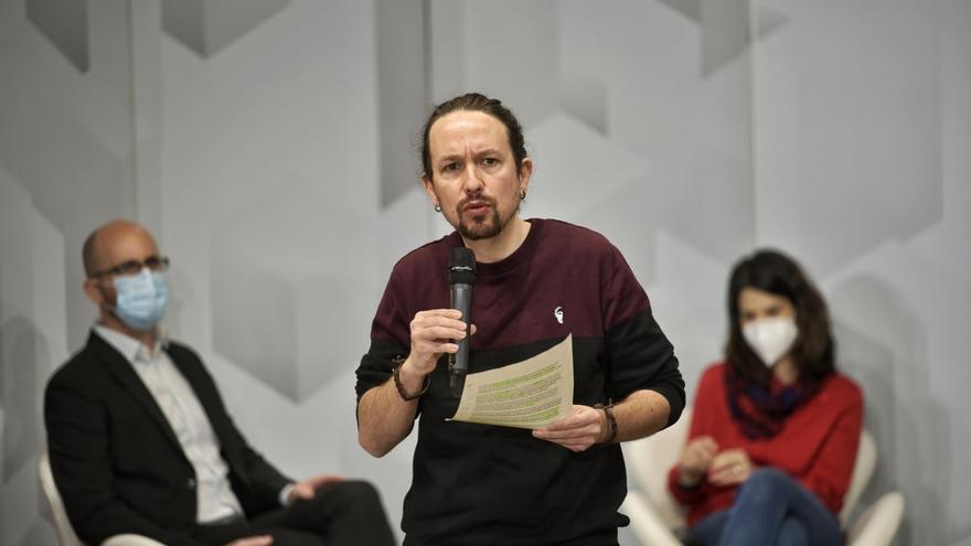 Iglesias asegura que la movilización de la izquierda podría dar a Madrid un gobierno de coalición progresista