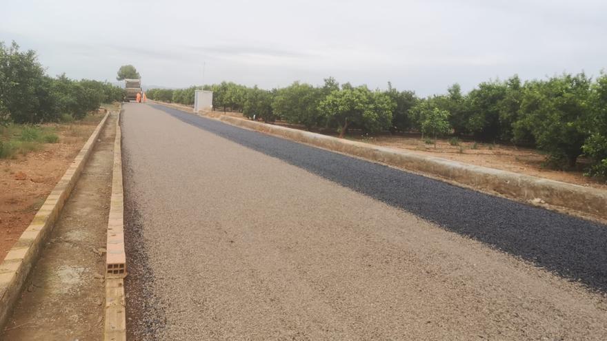 Vila-real culmina la reparación de dos caminos rurales con 150.000 euros