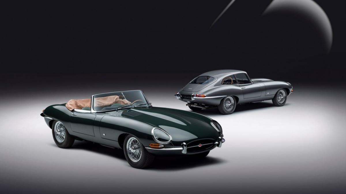 Jaguar Classic revive al E-Type en su 60 aniversario