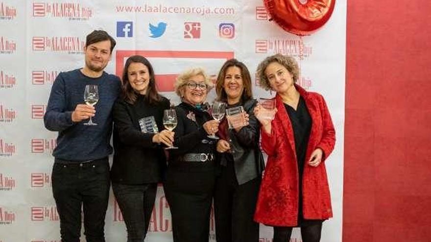 Embutidos Lalinense recibe el premio 'Del comer' de la revista La Alacena Roja