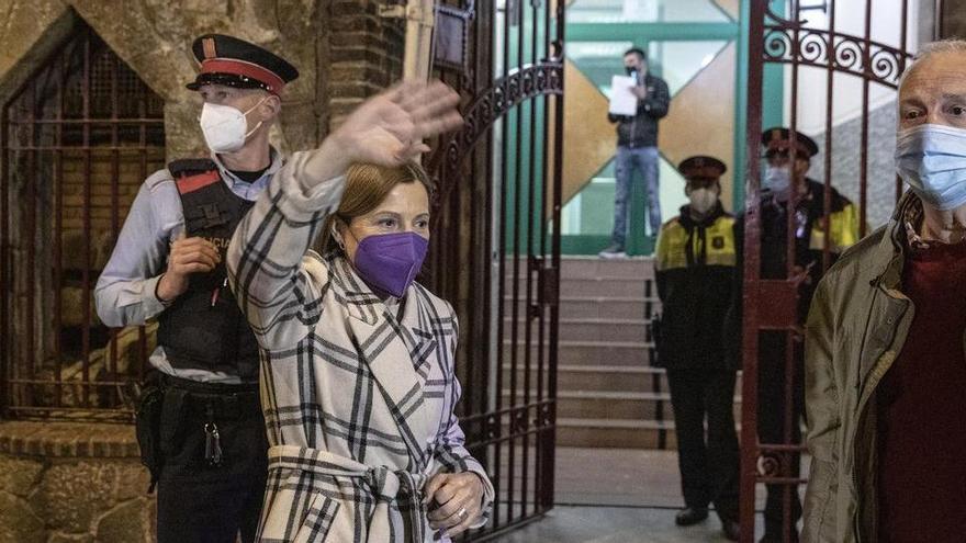 Forcadell i Bassa ingressen a presó després de la revocació del tercer grau