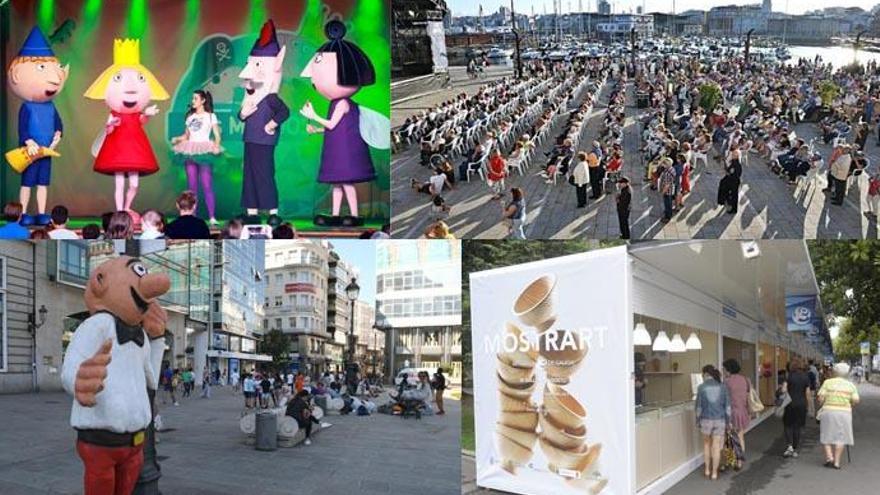 ¿Qué hacer hoy en A Coruña? Agenda del 5 de agosto