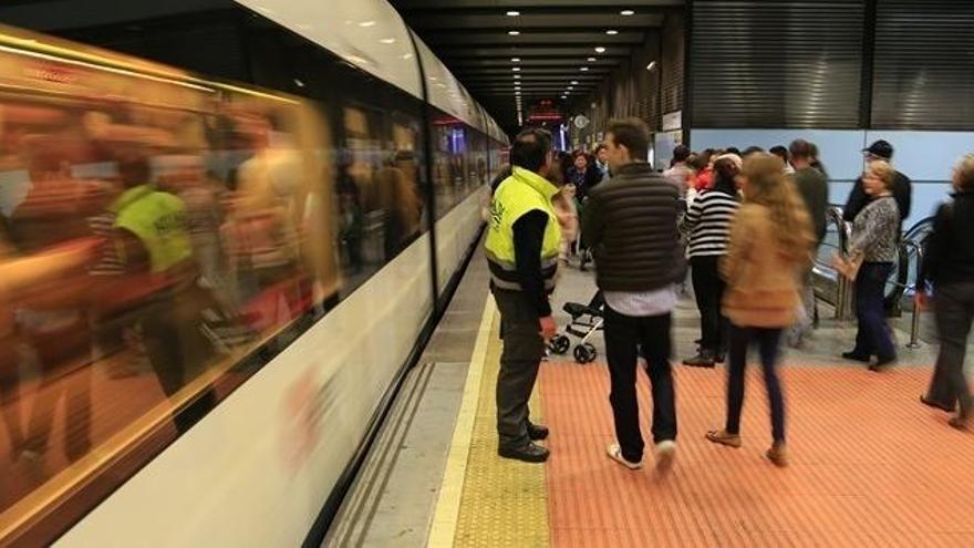 El metro de Xàtiva y Colón cerrará en la mascletà desde el 16