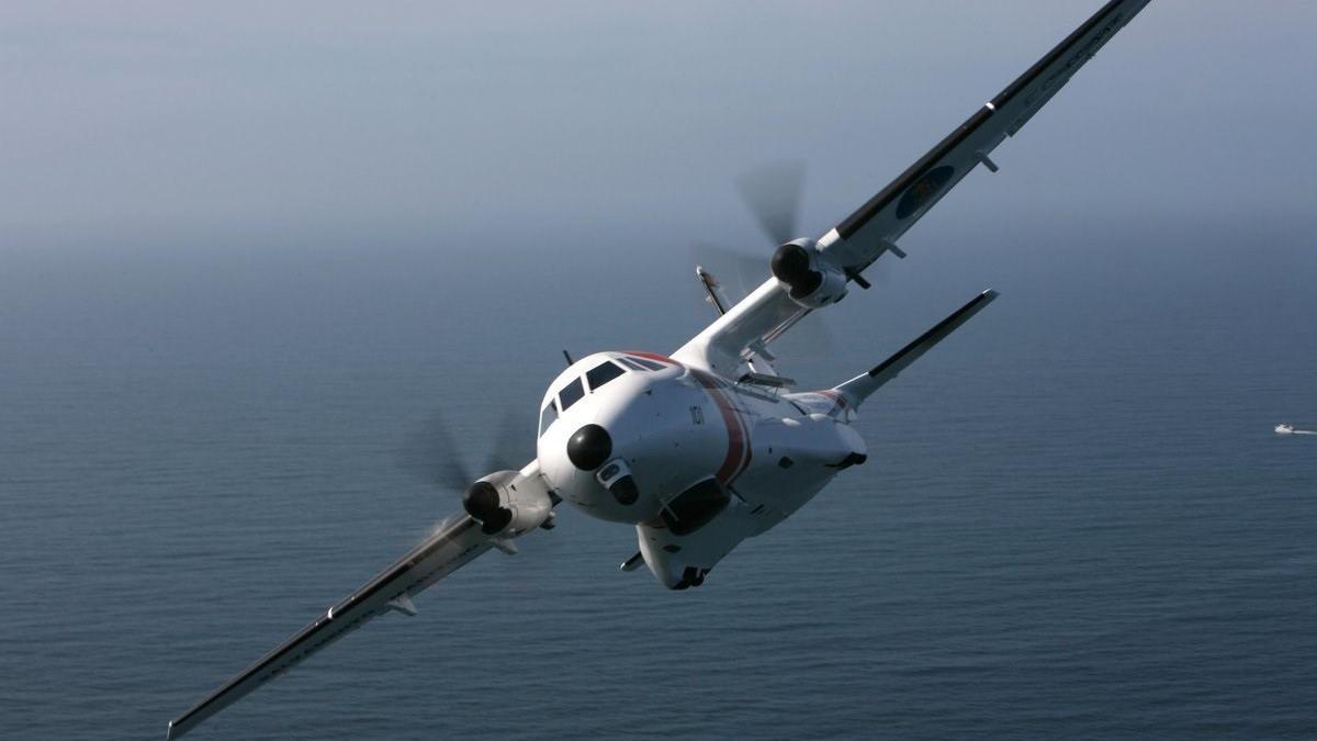Archivo - Avión Sasemar 103 de Salvamento Marítimo