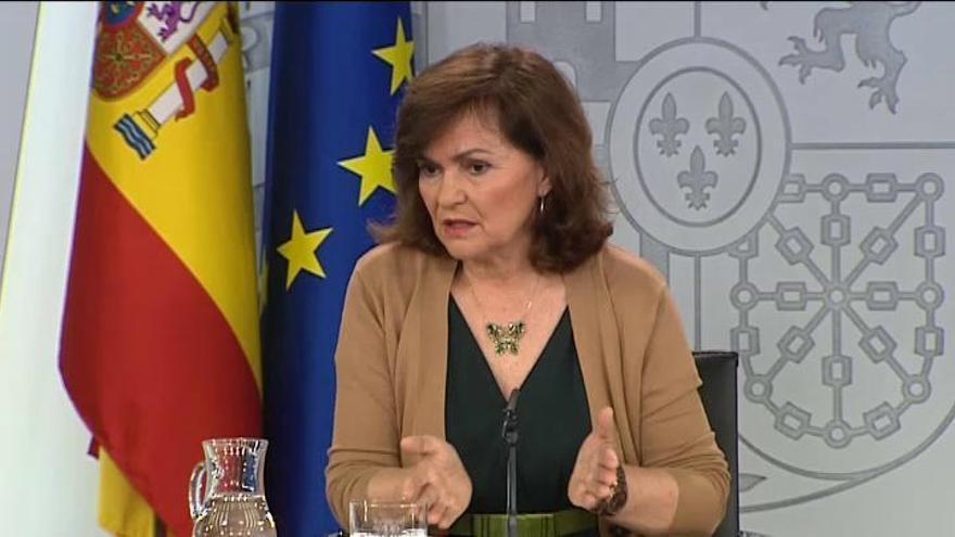 El Gobierno anuncia que exhumará a Franco el 10 de junio y lo enterrará en El Pardo