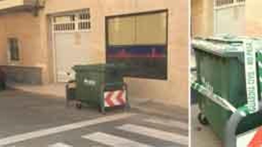 Hallan muerta a una recién nacida en un contenedor en Alicante