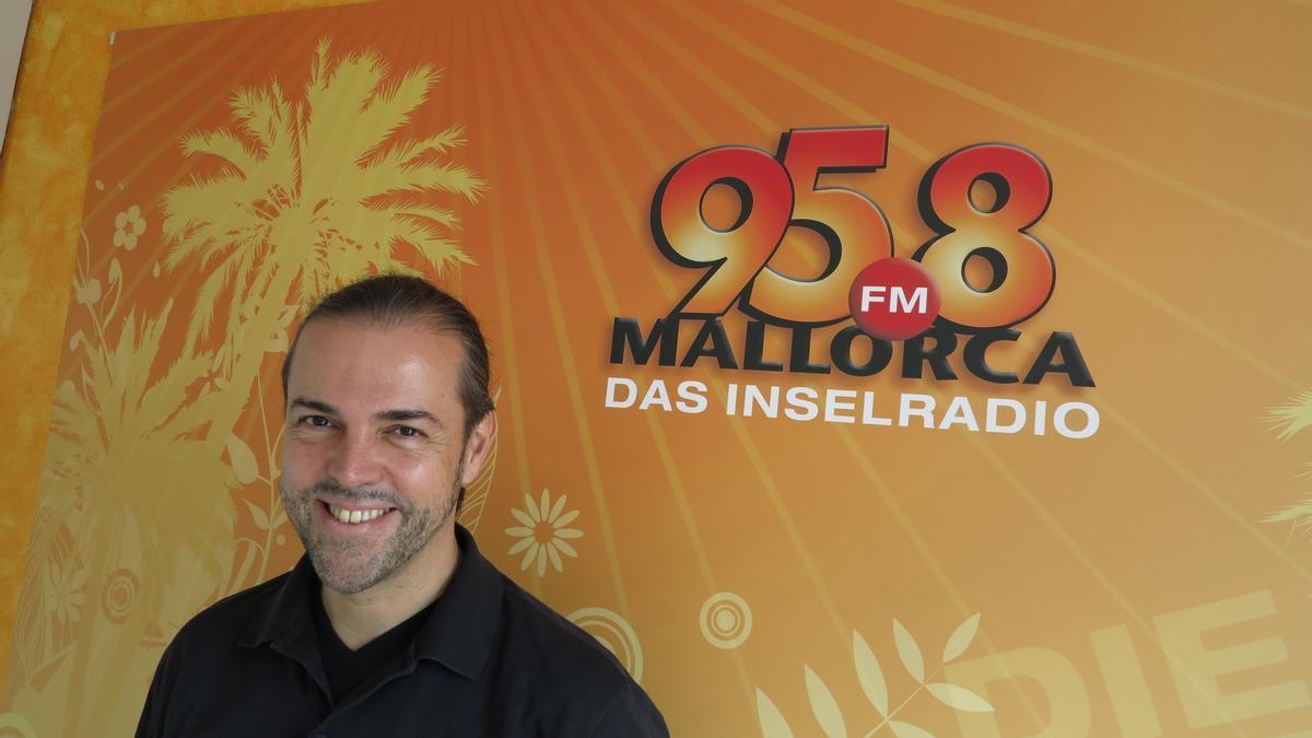 Daniel Vulic, Geschäftsführer des Inselradios auf Mallorca.