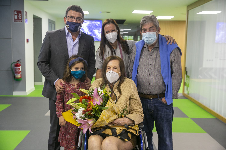 Pirula Arderius celebra en INFORMACIÓN sus 80 años