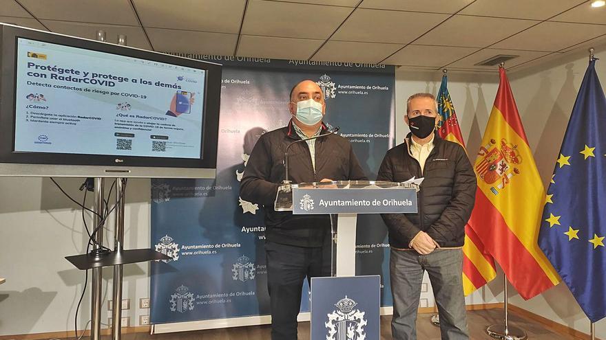Orihuela fomenta la aplicación radar covid para ayudar al rastreo