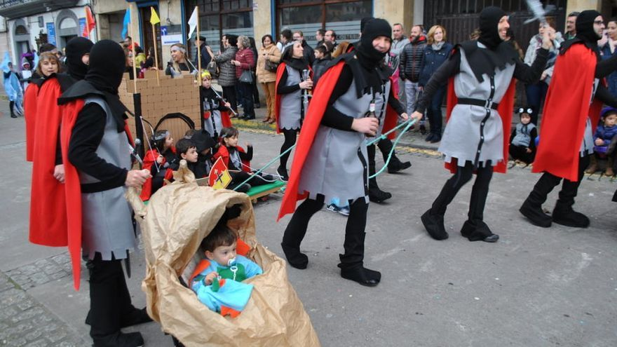 Luarca vive un Carnaval de película