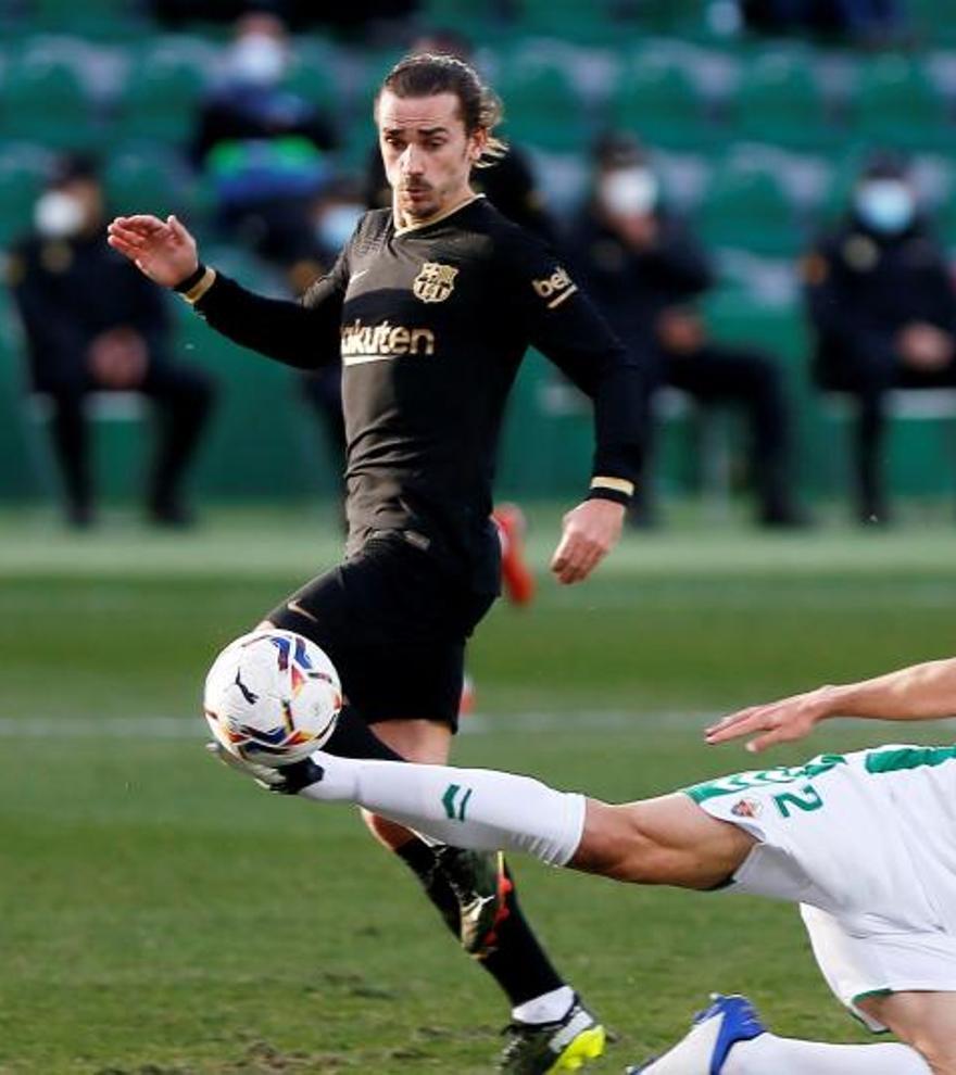 Todos los goles de la jornada 20 de LaLiga: De Jong y Riqui Puig hunden al Elche