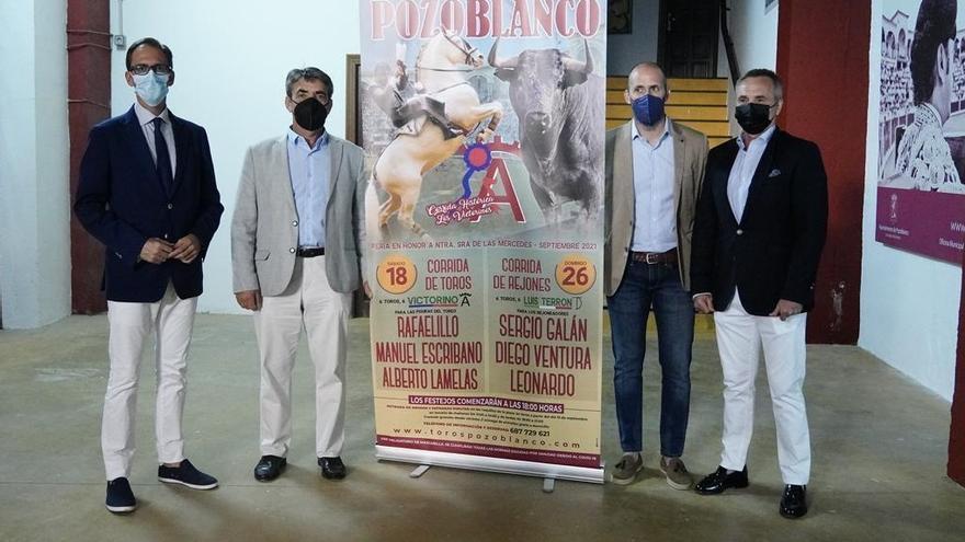 Una corrida de 'victorinos' abre el cartel de Pozoblanco con Rafaelillo, Manuel Escribano y Alberto Lamelas