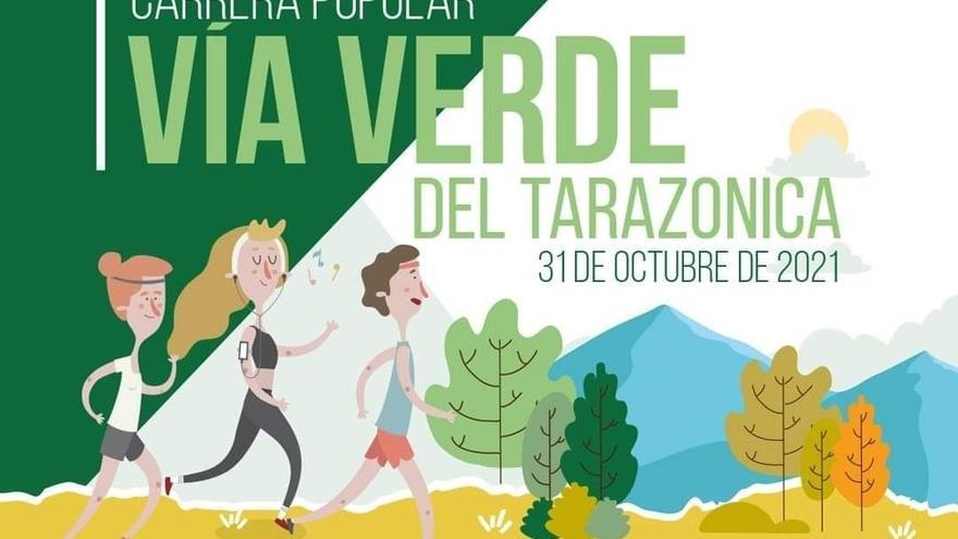 Vuelve la carrera popular Vía Verde del Tarazonica