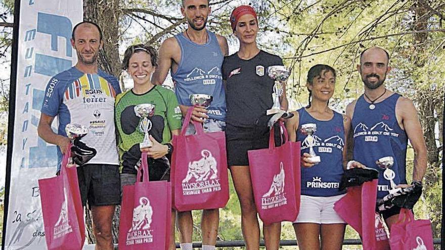 David Martínez y Asmaa Zammou se imponen en la carrera de Sa Vileta