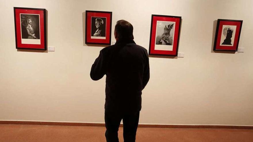 El ilustrador Fernando Vicente descubre a Drácula en el CMAE