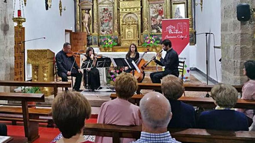 """El """"Cuarteto Berdión"""" se une al homenaje a López Cobos con un recital en Las Sofías"""