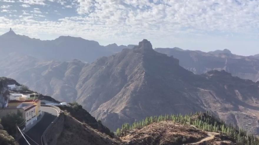 Así está el tiempo en la cumbre de Gran Canaria