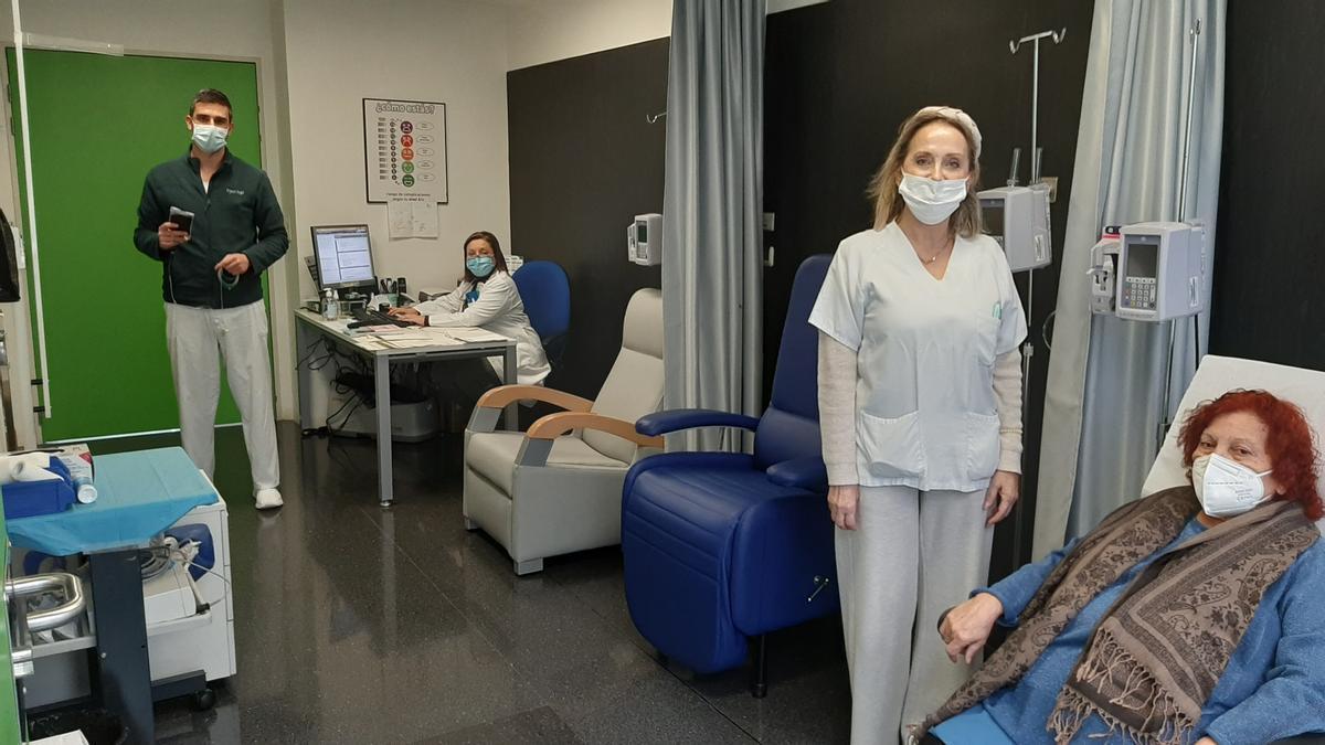 Consulta de Medicina Interna del Hospital General de Elche donde se trata a pacientes con enfermedades raras