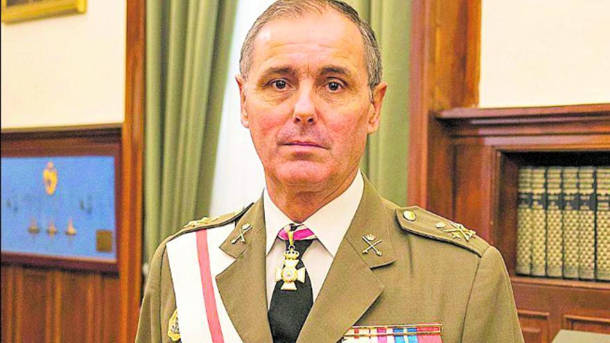 Carlos Palacios, segundo jefe de Estado Mayor del Ejército de Tierra